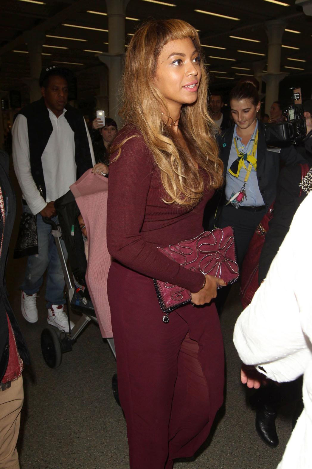 Beyonce Short Bangs - P 2014