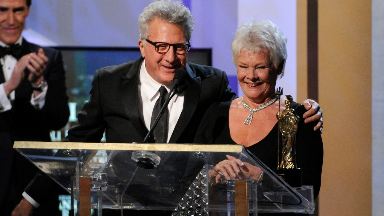 Britannia Awards Dustin Hoffman Judi Dench - H - 2014