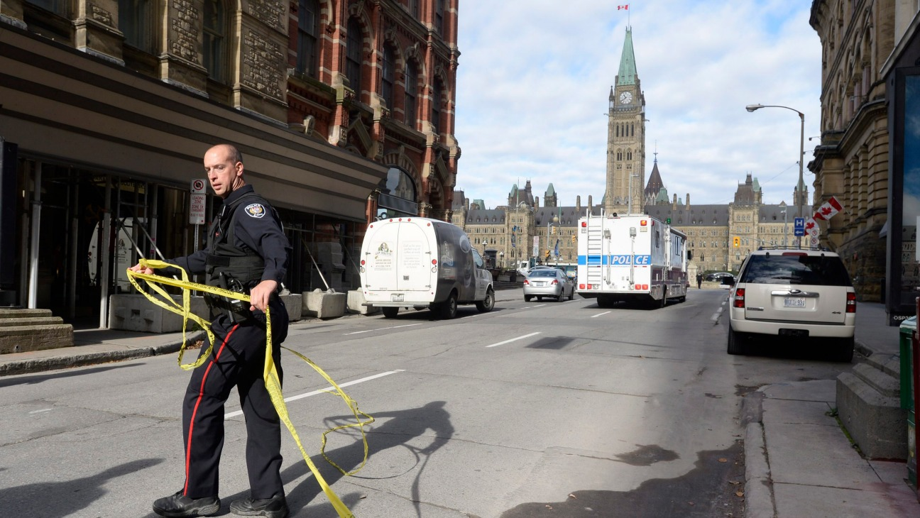 Canada Parliament Shooting - H - 2014