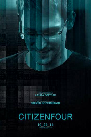 Citizenfour Poster - P 2014