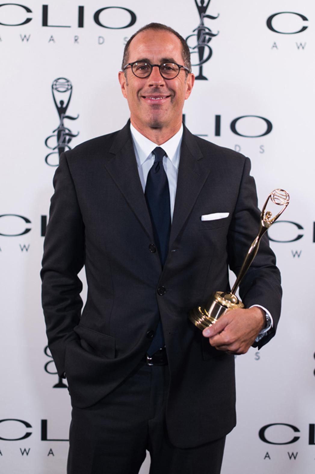 Clio Awards Jerry Seinfeld P 2014