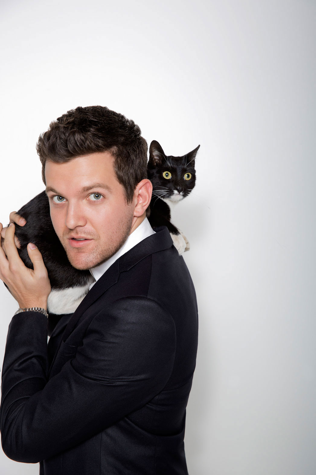 Dillon Francis With A Cat - P 2014