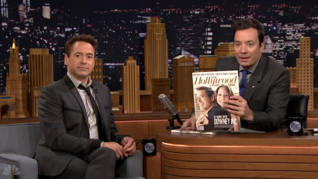 Downey Cover on Tonight Show - H 2014