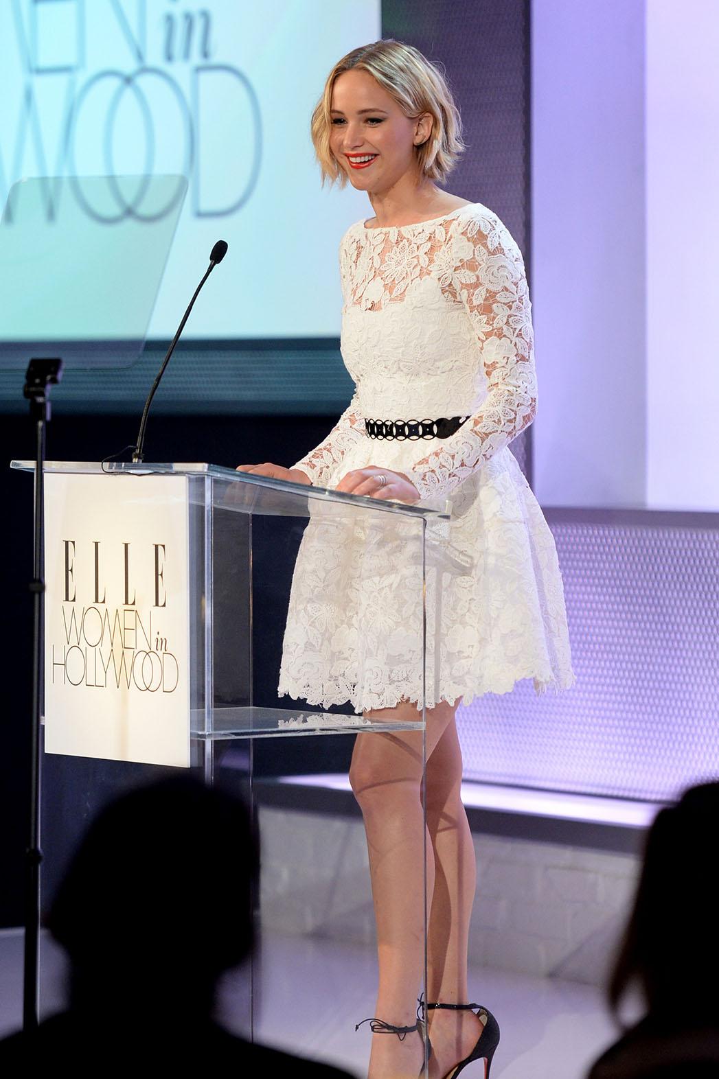 Jennifer Lawrence Dress du Jour - P 2014