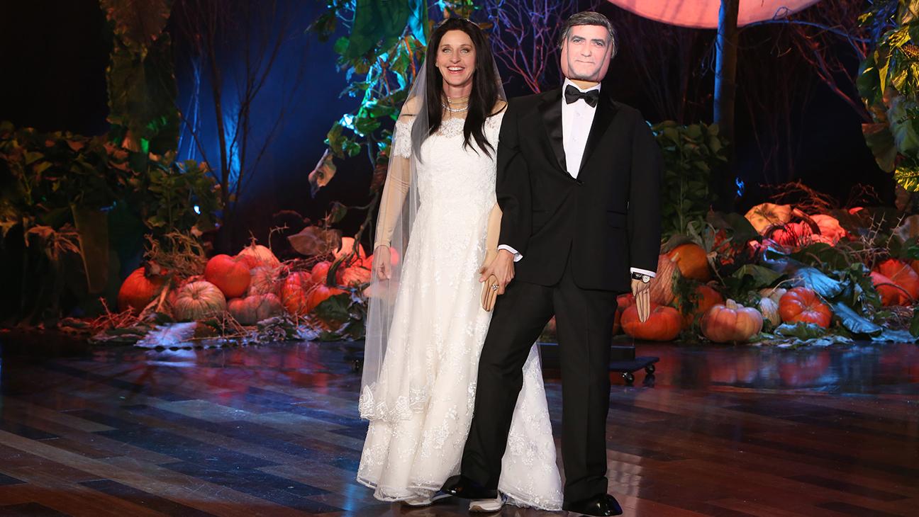 Ellen Degeneres Clooney Halloween H 2014