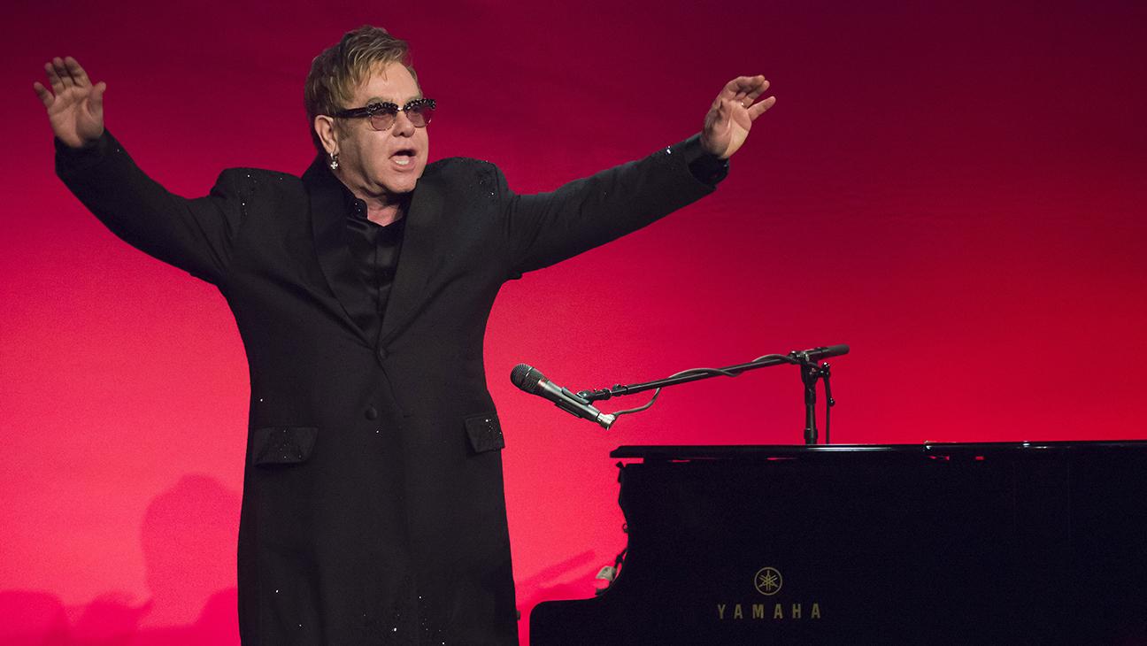 Elton John Aids Foundation Gala H 2014