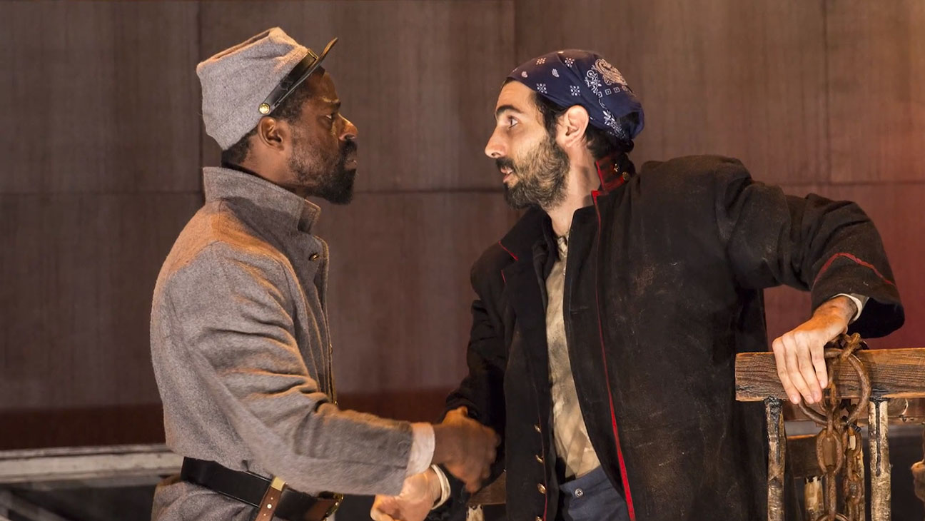 Father Comes Home from the Wars Production Still - H 2014