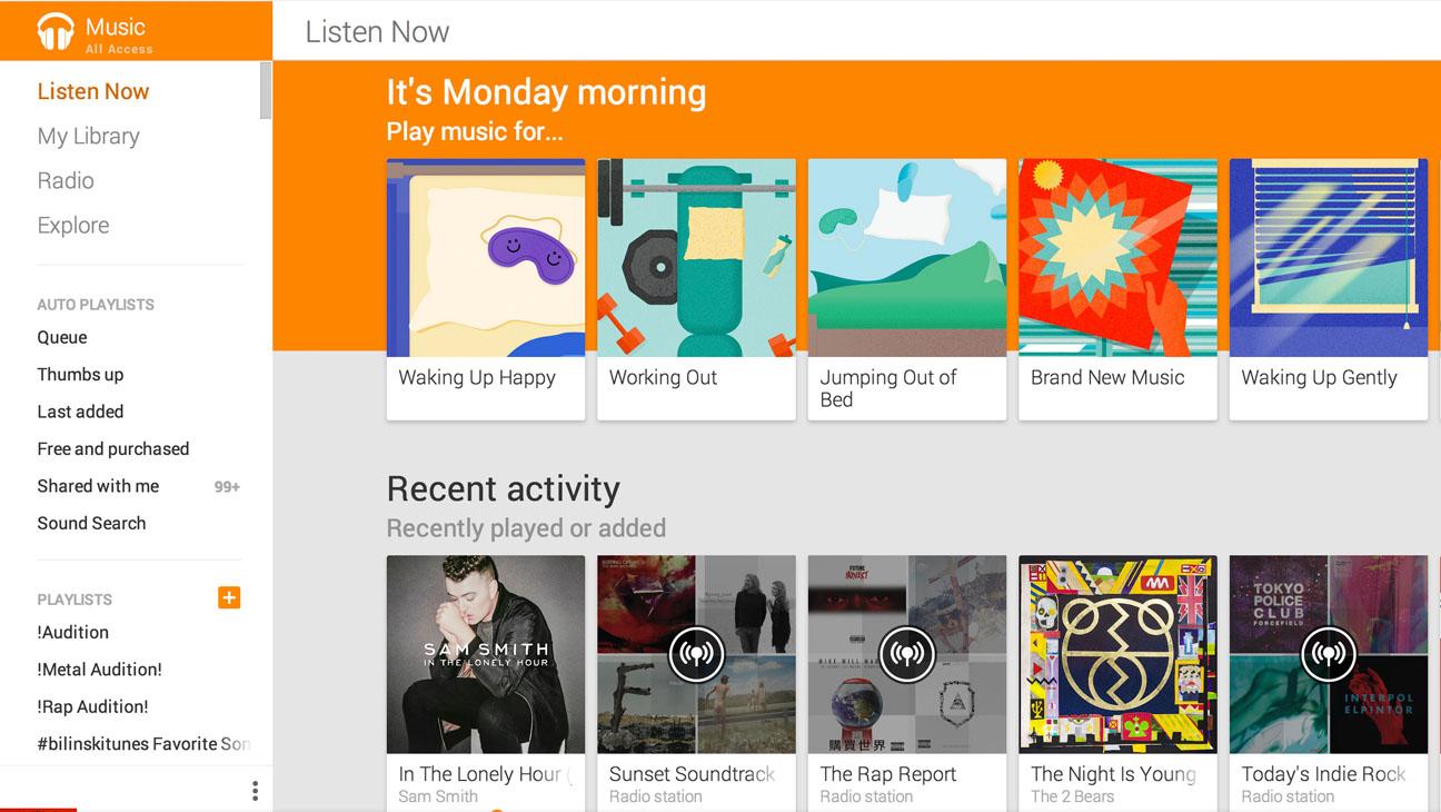Google Play Music - H 2014