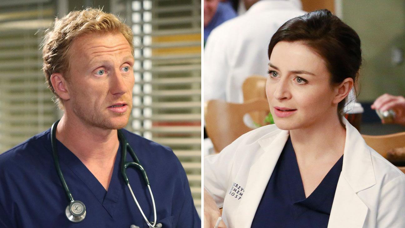 Grey's Anatomy Kevin McKidd and Caterina Scorsone Split - H 2014