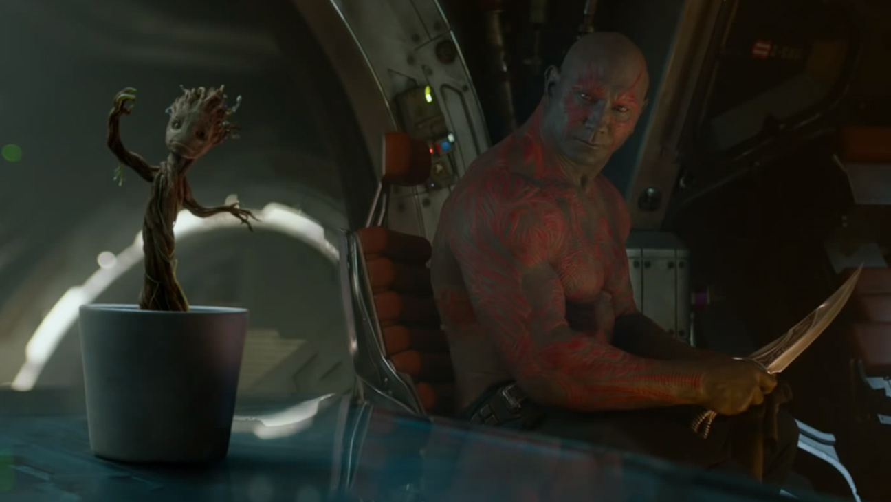 Guardians of the Galaxy Dancing Baby Groot H 2014