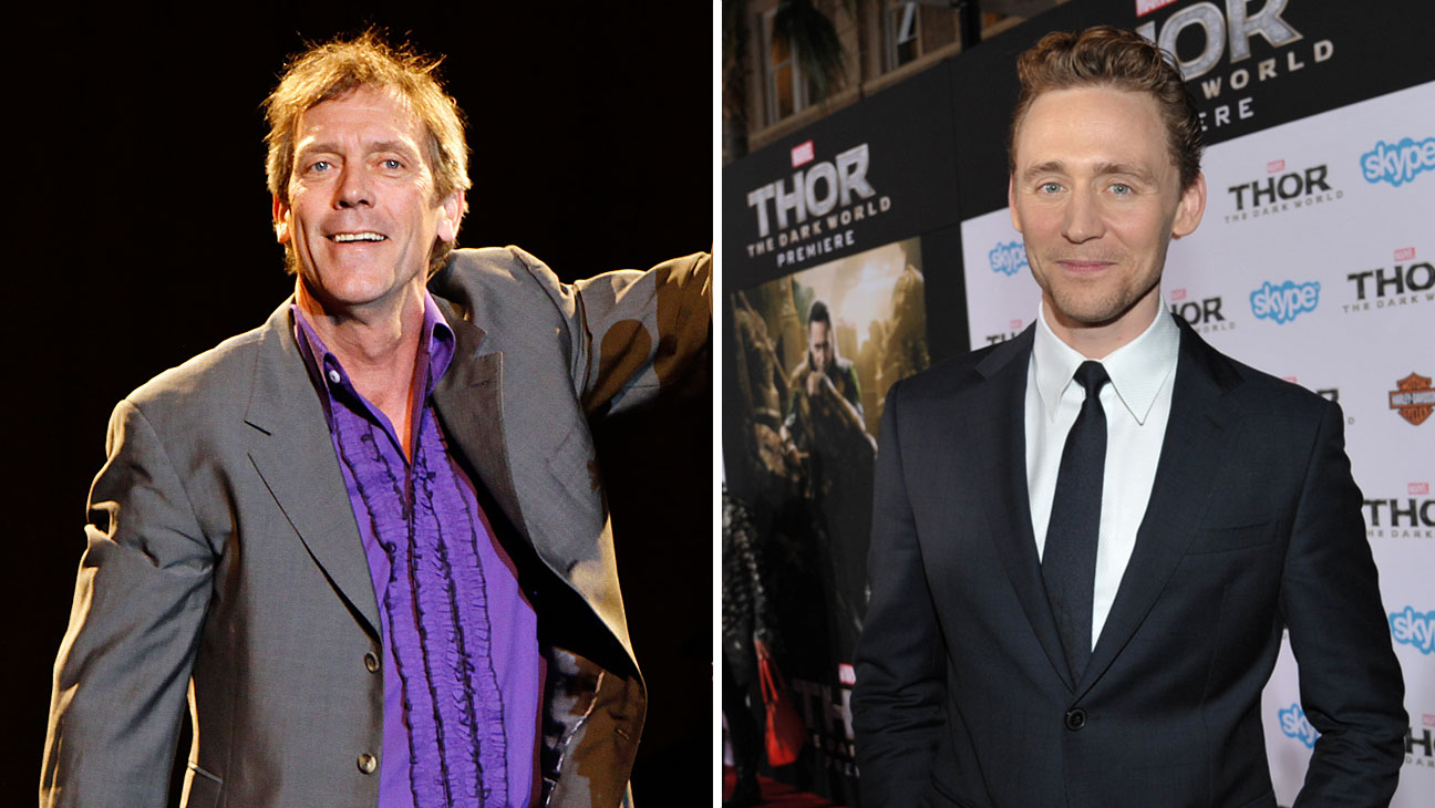 Hugh Laurie and Tom Hiddleston Split - H 2014