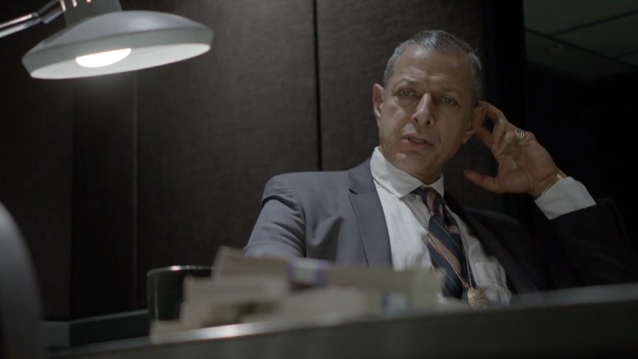 John Oliver Jeff Goldblum H 2014