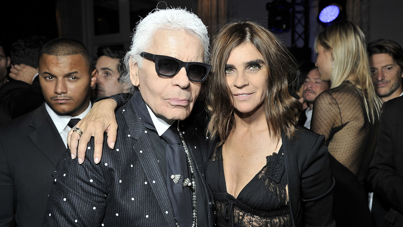 Karl Lagerfeld and Carine Roifeld - H 2014