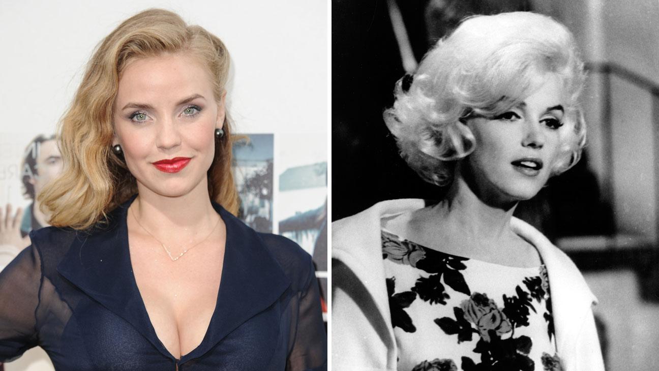 Kelli Garner Marilyn Monroe Split - H 2014