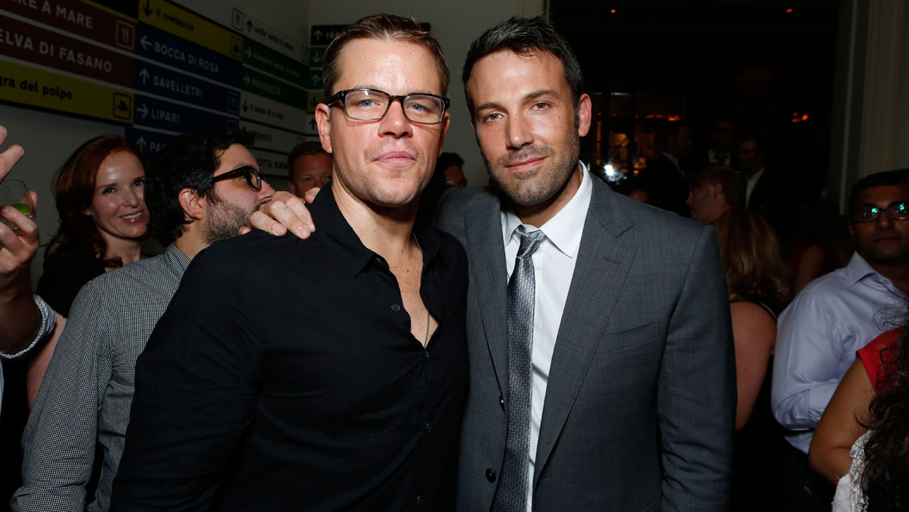 Matt Damon Ben Affleck - H 2014