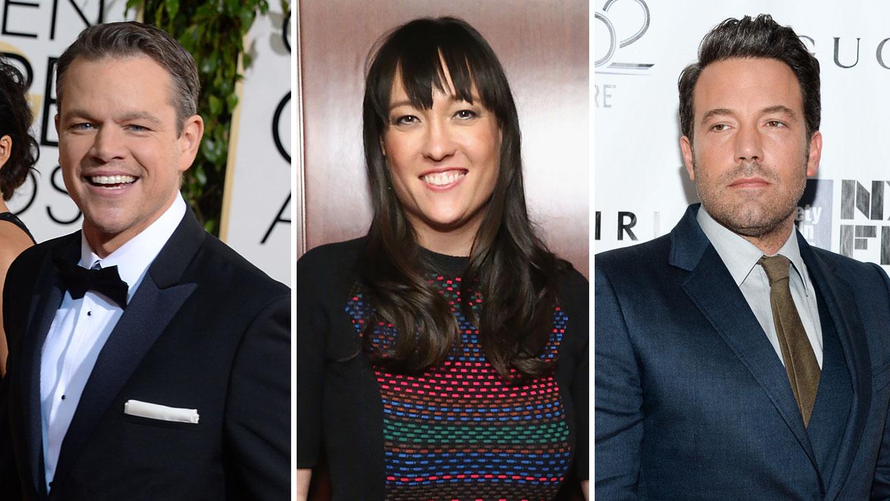 Matt Damon Collenn McGuinness Ben Affleck Split - H 2014