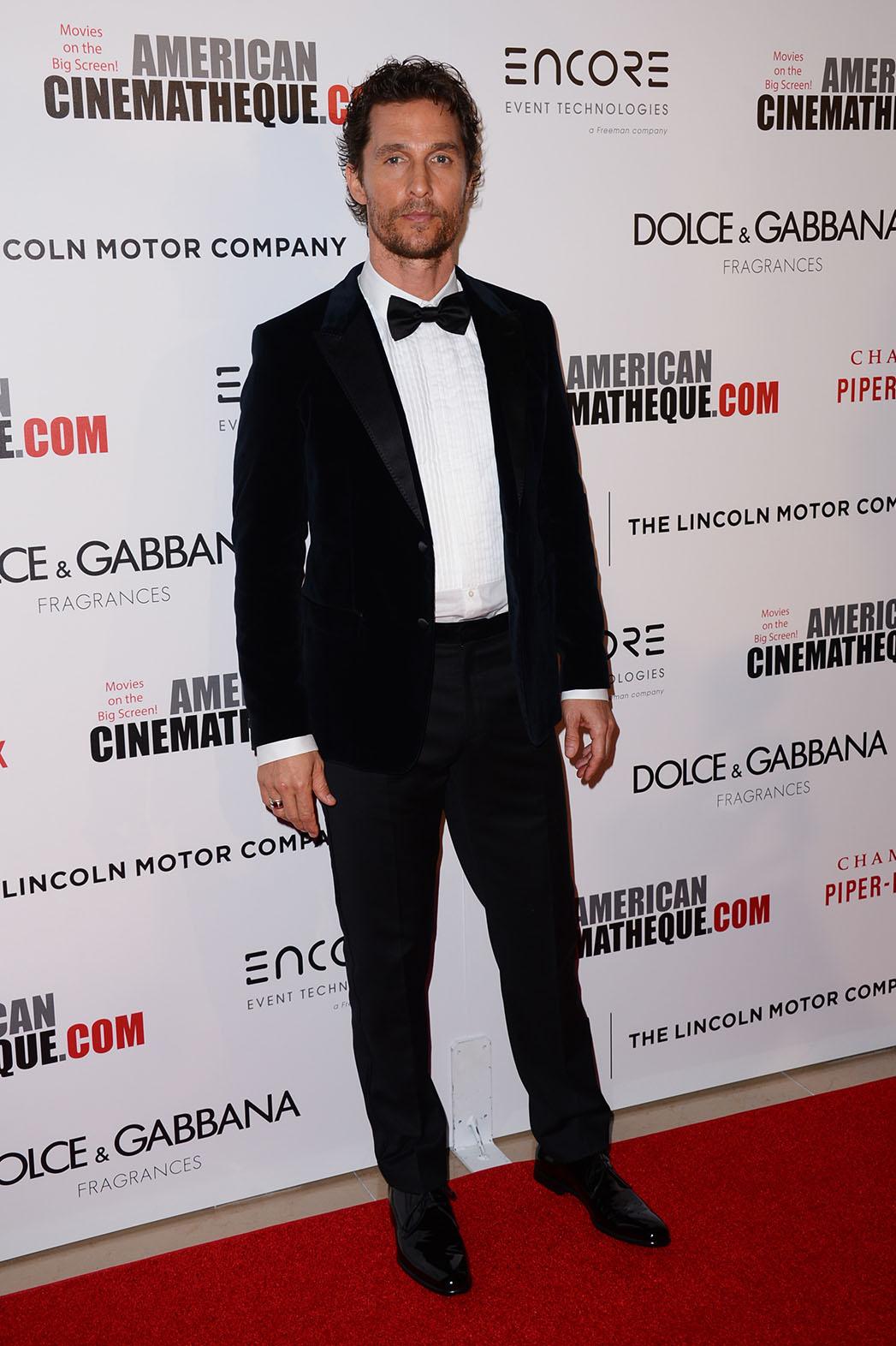 Matthew McConaughey Dressed Up - P 2014