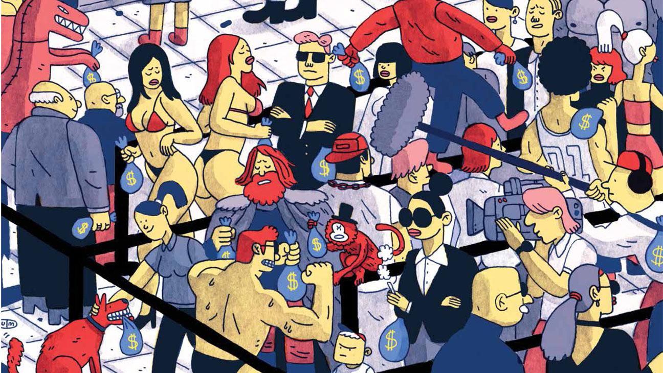 Money Illustration - H 2014