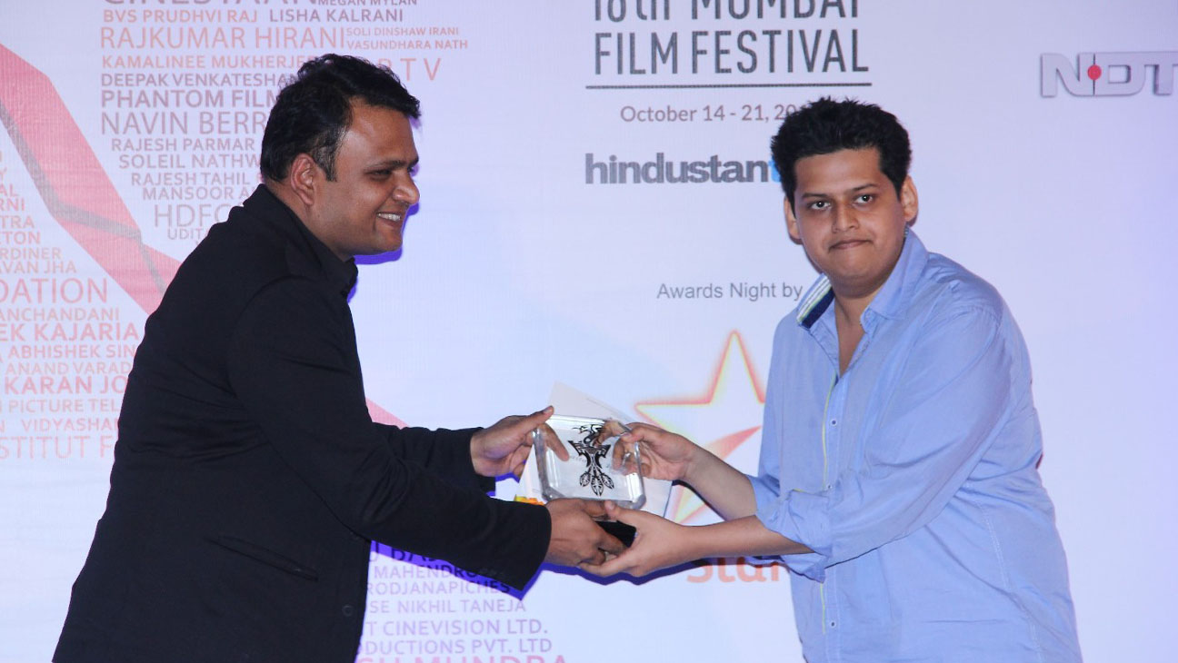 Mumbai Film Festival 2014 best director Award - H 2014