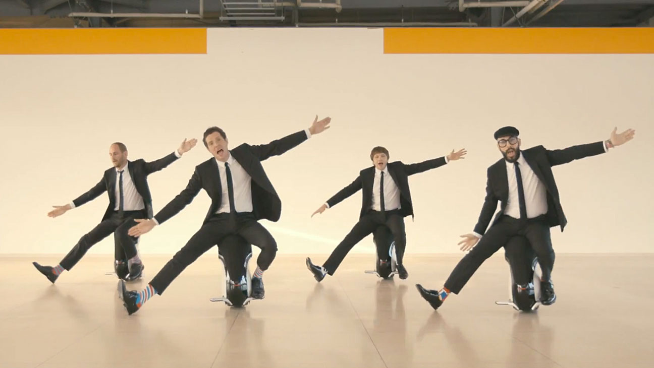 Ok Go I Won't Let You Down Video - H 2014