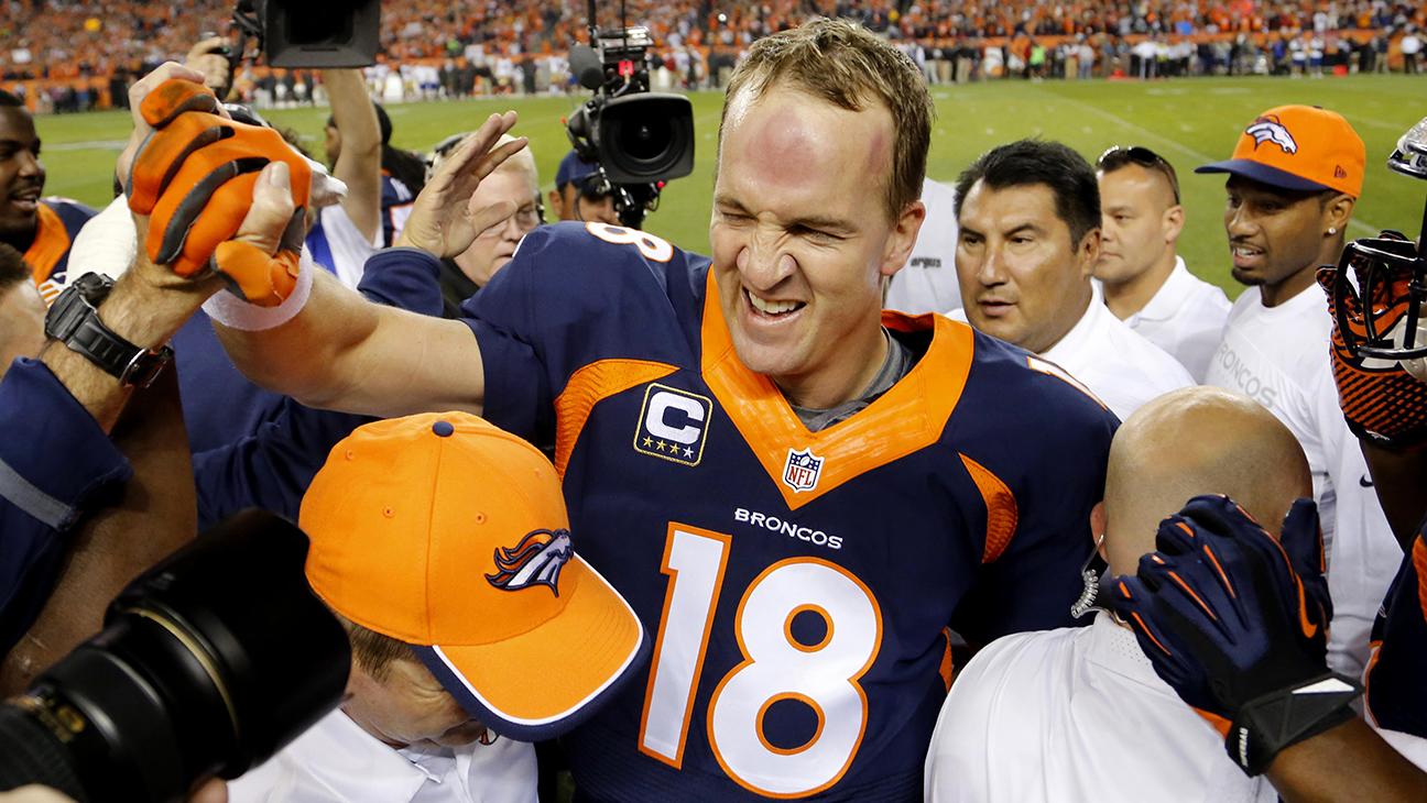 Peyton Manning Touchdown Record - H 2014