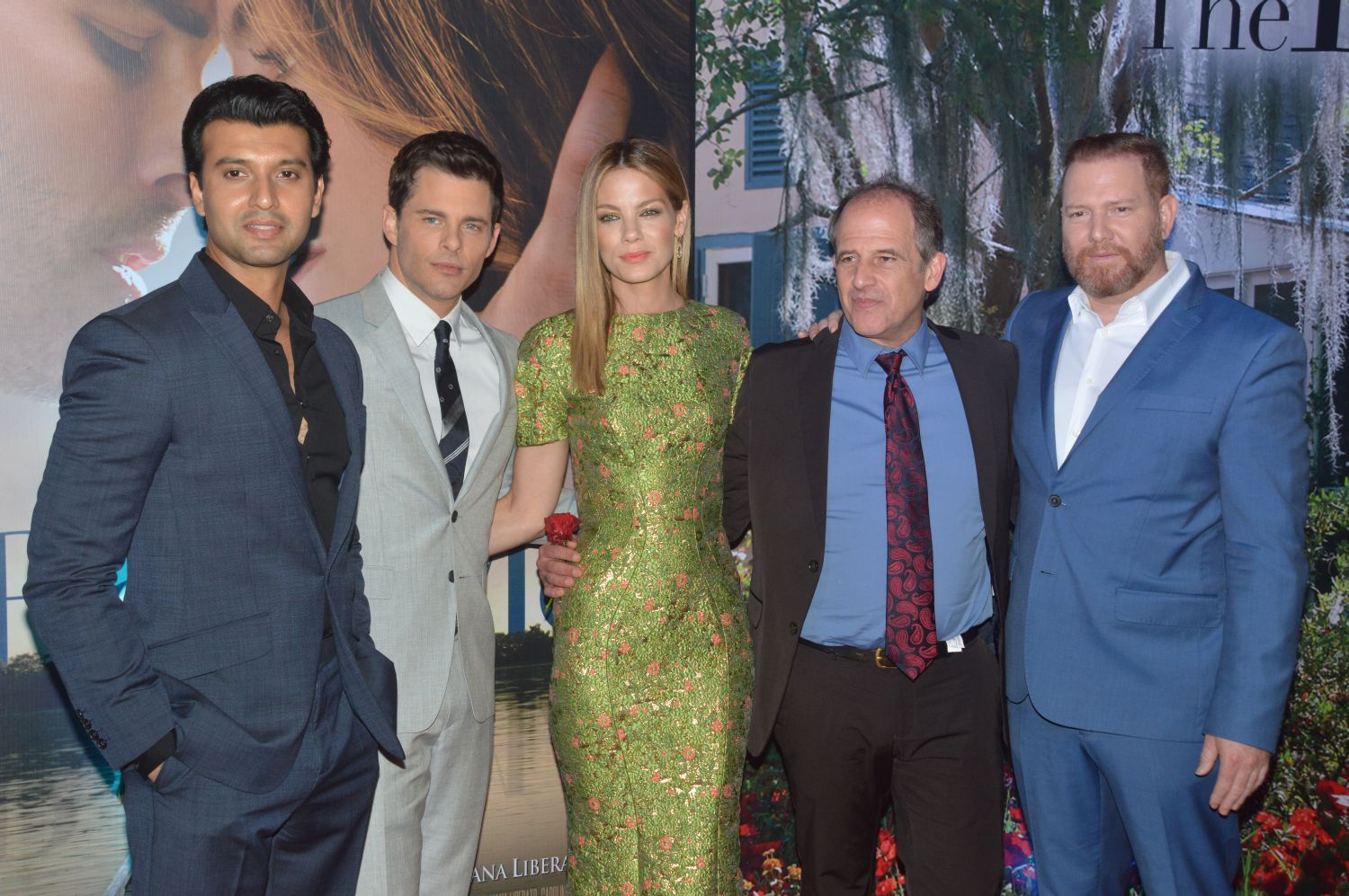 Relativity Media India premiere for 'The Best of Me' - H 2014