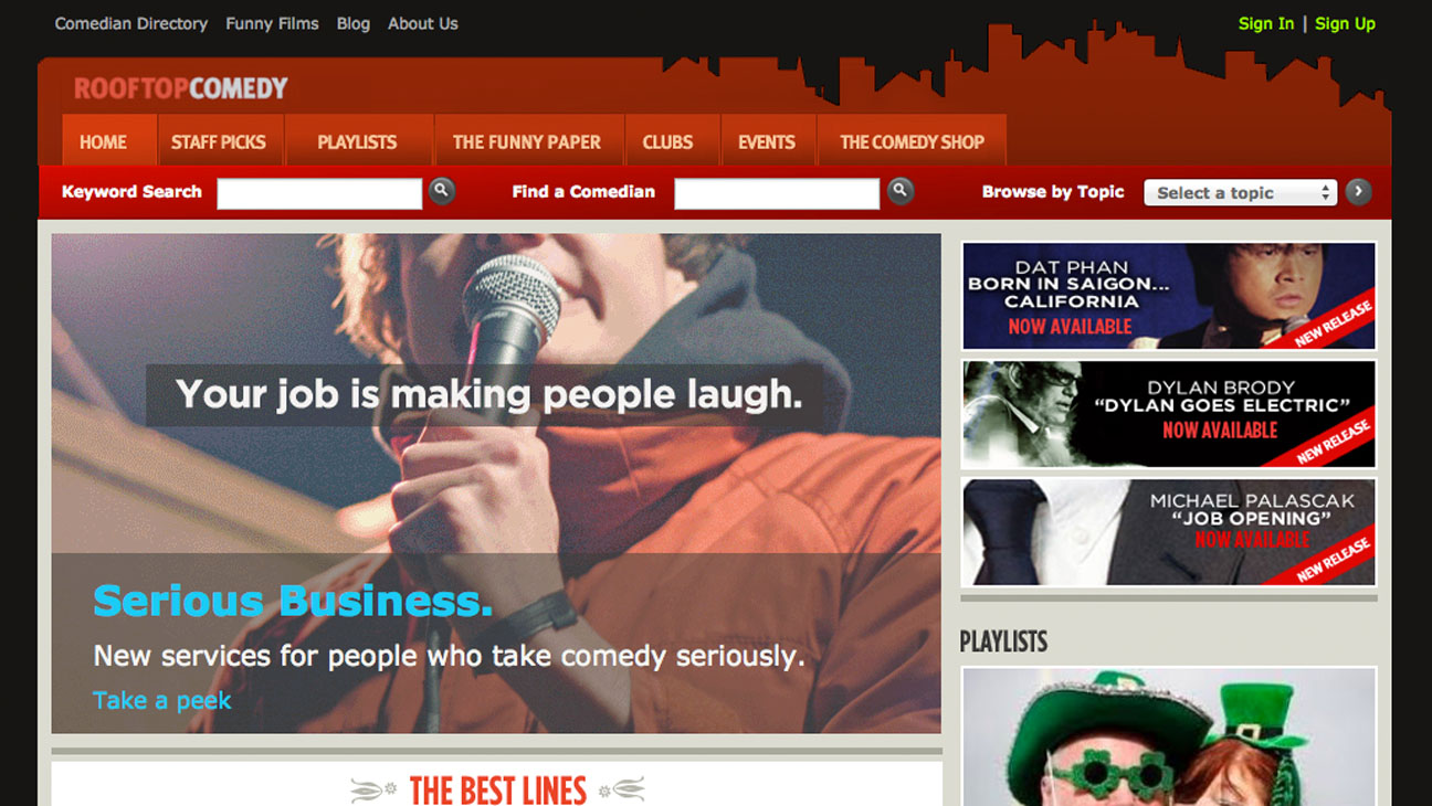 Rooftop Comedy Homepage - H 2014
