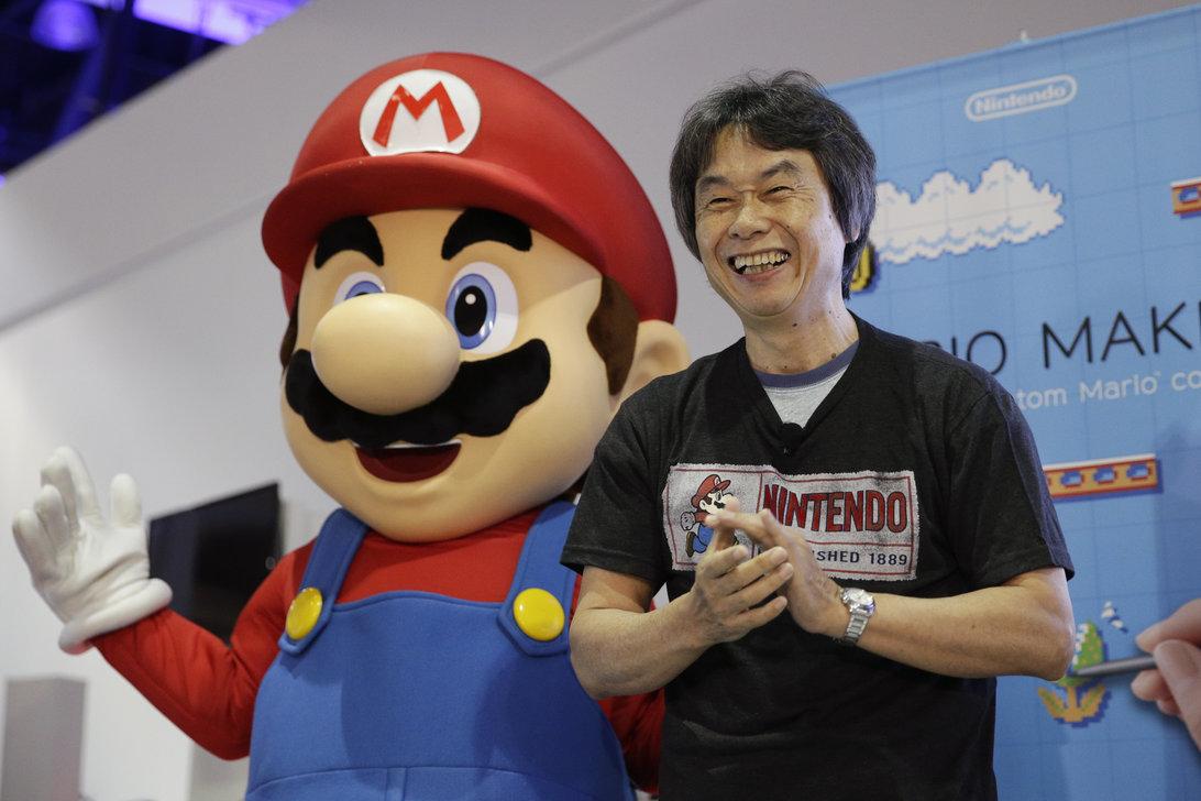 Shigeru Miyamoto Mario H 2014