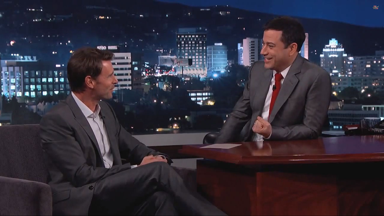 Scott Foley Jimmy Kimmel - H 2014