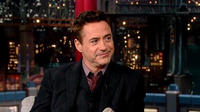 Robert Downey Jr. Late Show - H 2014
