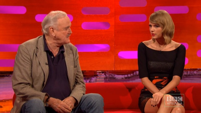 Taylor Swift John Cleese Still - H 2014