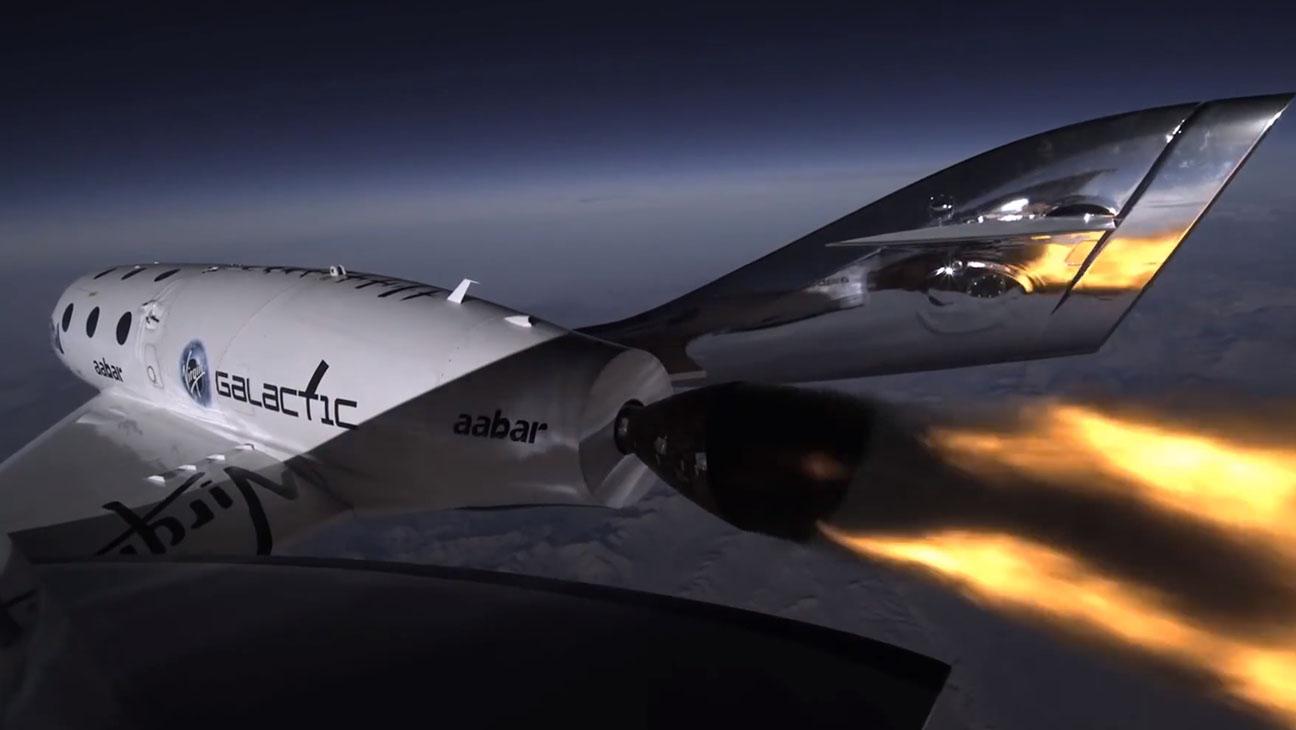 SpaceShip2 Final Burn - H 2014