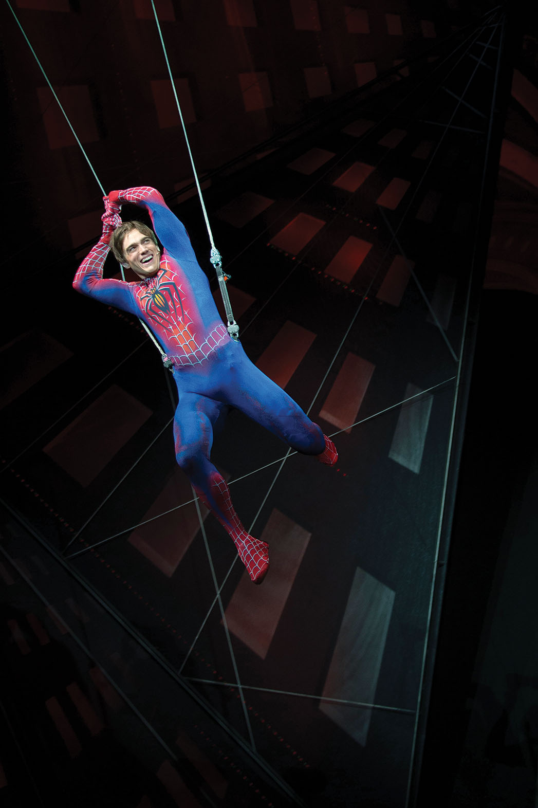 Spider Man: Turn Off the Dark Production Still - P 2014