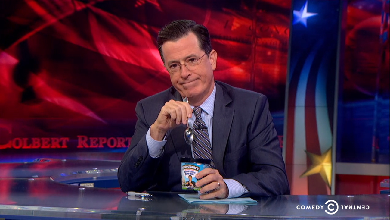 Stephen Colbert Report Episodic H 2014