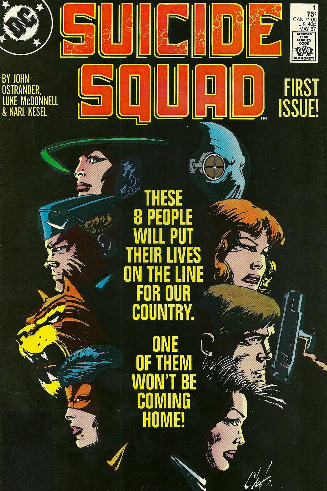 Suicide Squad Issue 1 - P 2014