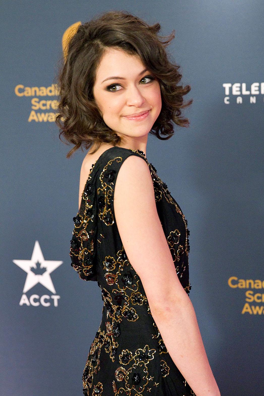 Tatiana Maslany Canadian Screen Awards - P 2014