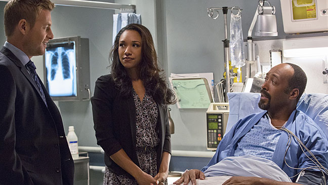 The Flash S01E03 Things You Can't Outrun Still - H 2014