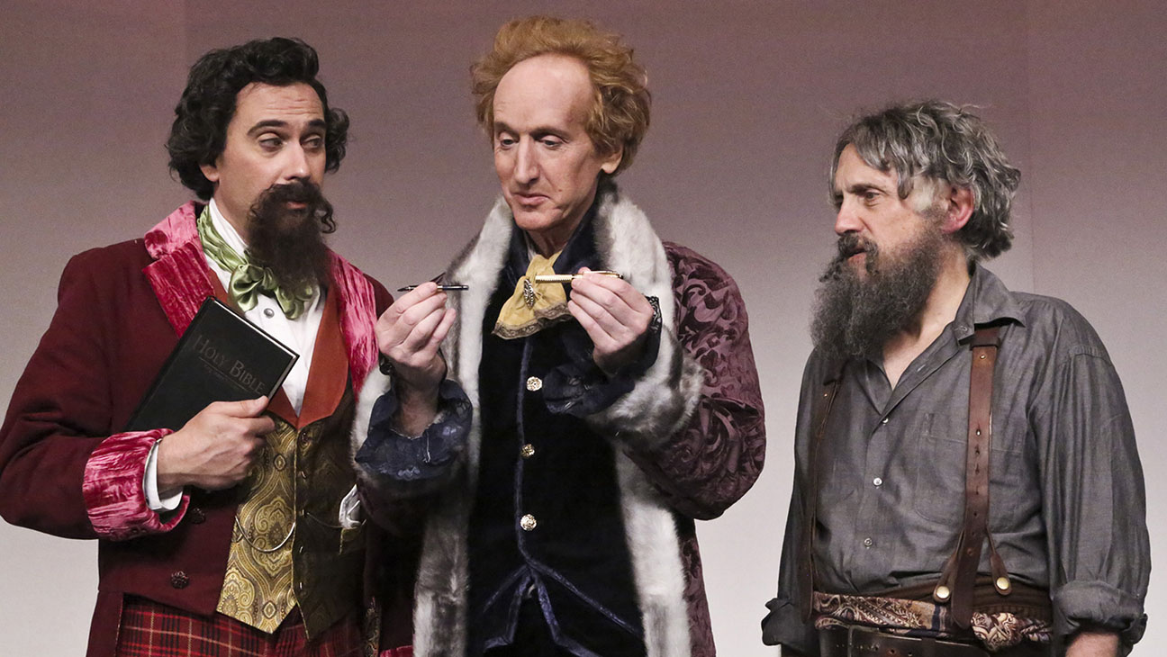 The Gospel According to Thomas Jefferson, Charles Dickens, and Count Leo Tolstoy: Discord Production Still - H 2014