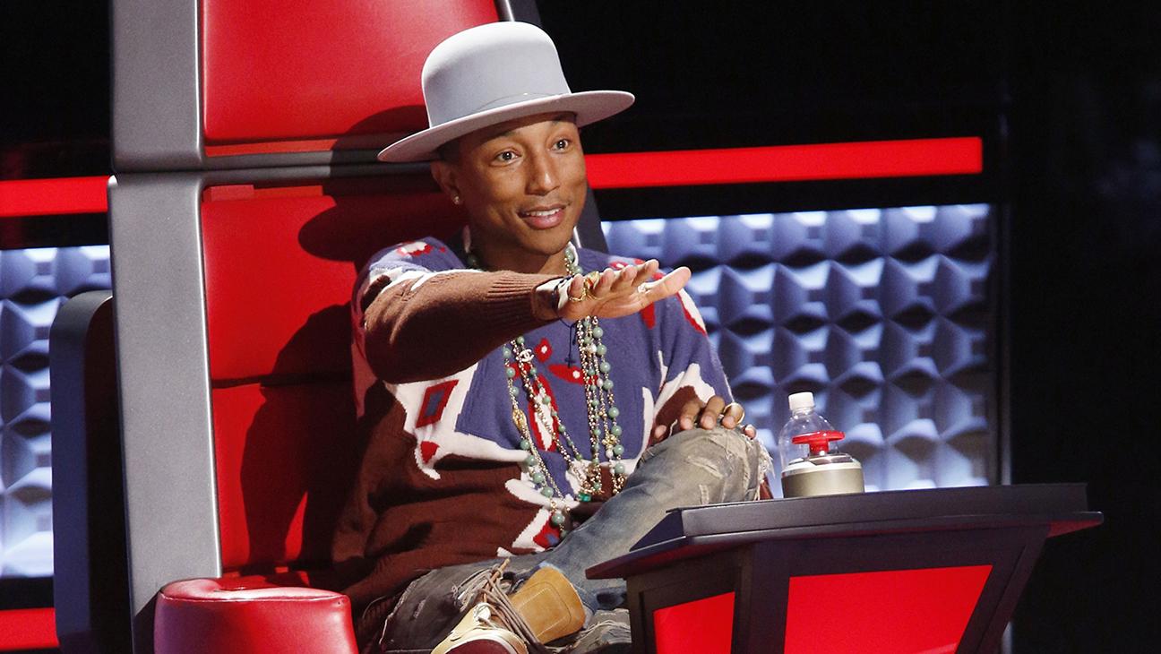 The Voice Pharrell Williams H 2014