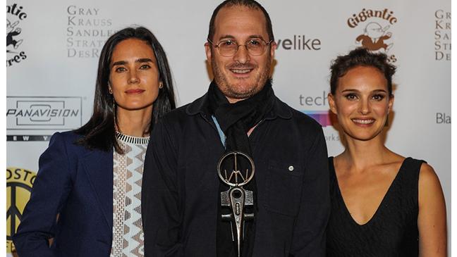 Natalie Portman Jennifer Connelly Darren Aronofsky Woodstock Film Fest 2014 H