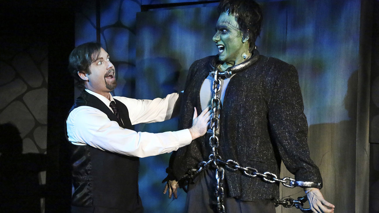Young Frankenstein at the MET Production Still - H 2014
