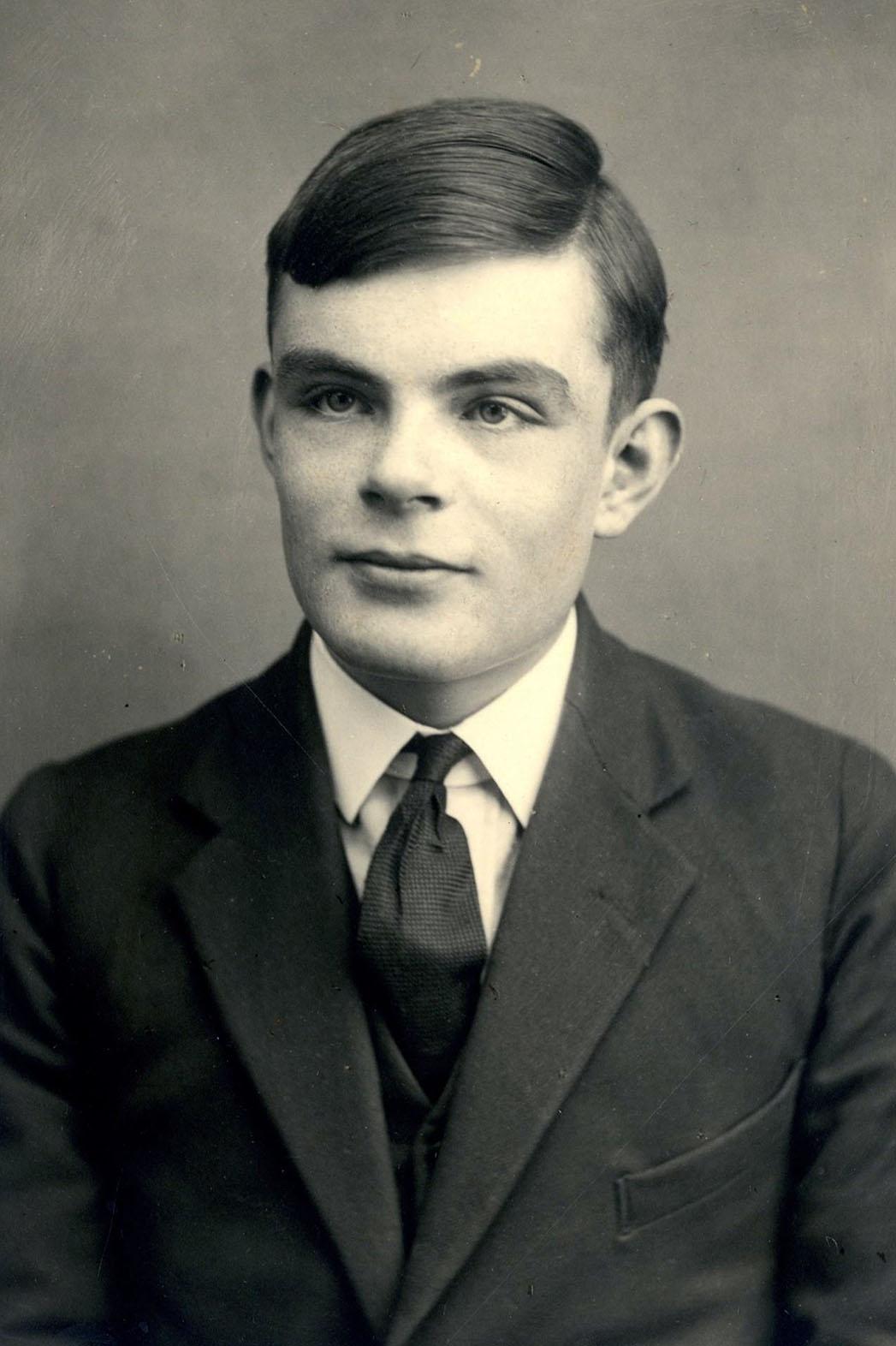 Alan Turing Portrait - P 2014