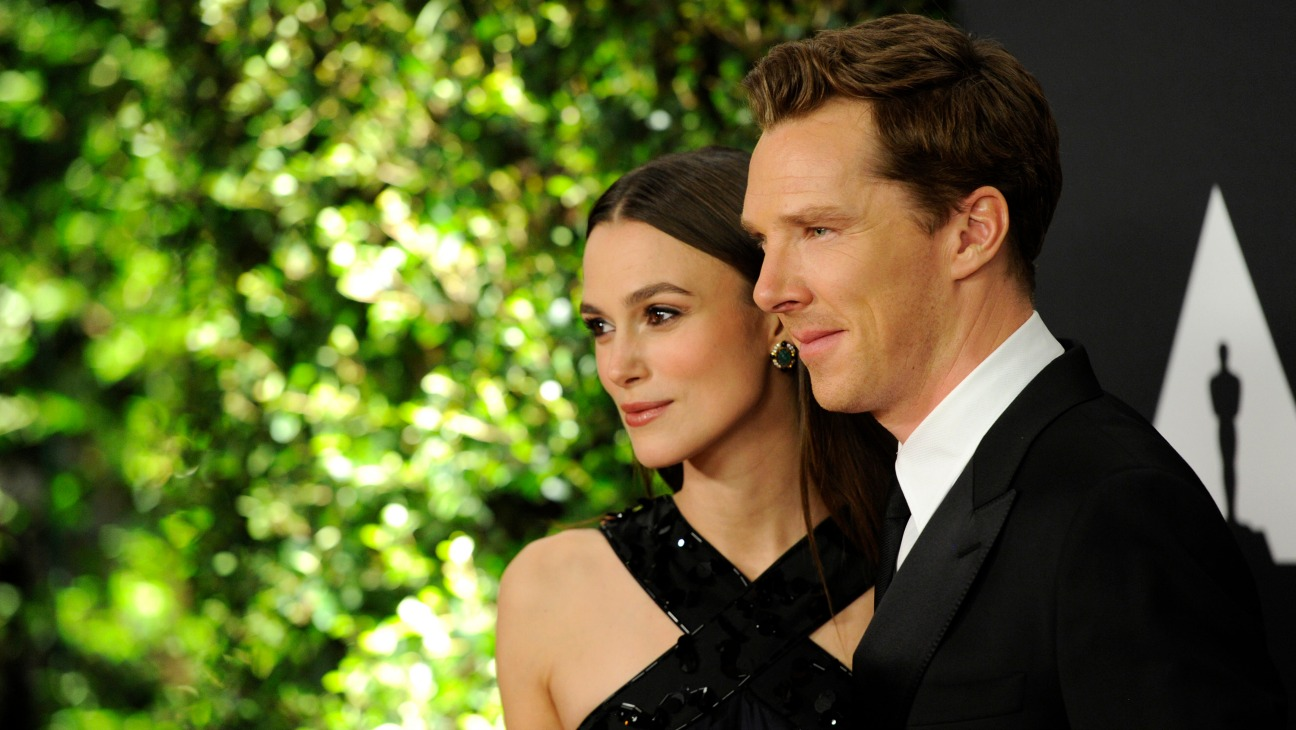 Benedict Cumberbatch Keira Knightley Governors Awards - H 2014