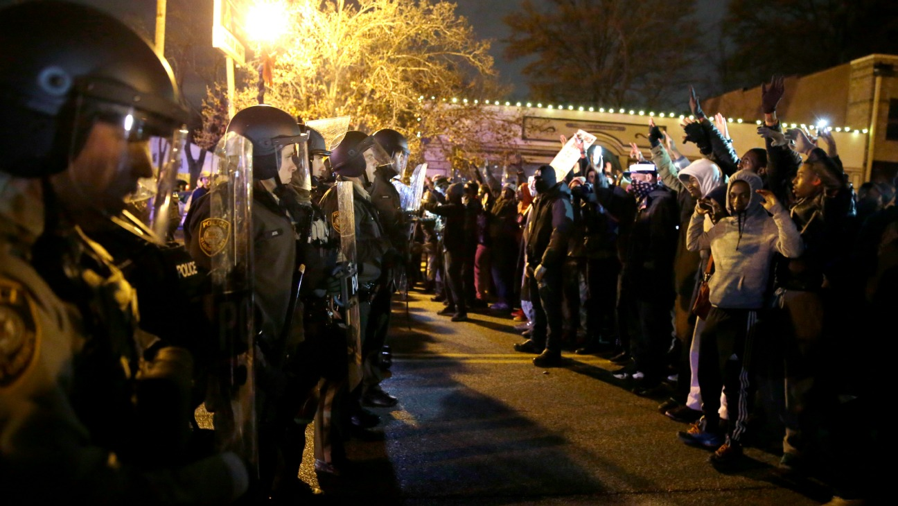 Ferguson Protests November - H 2014