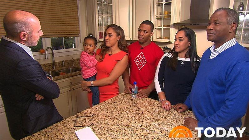 Ray and Janay Rice 'Today' Interview - H 2014