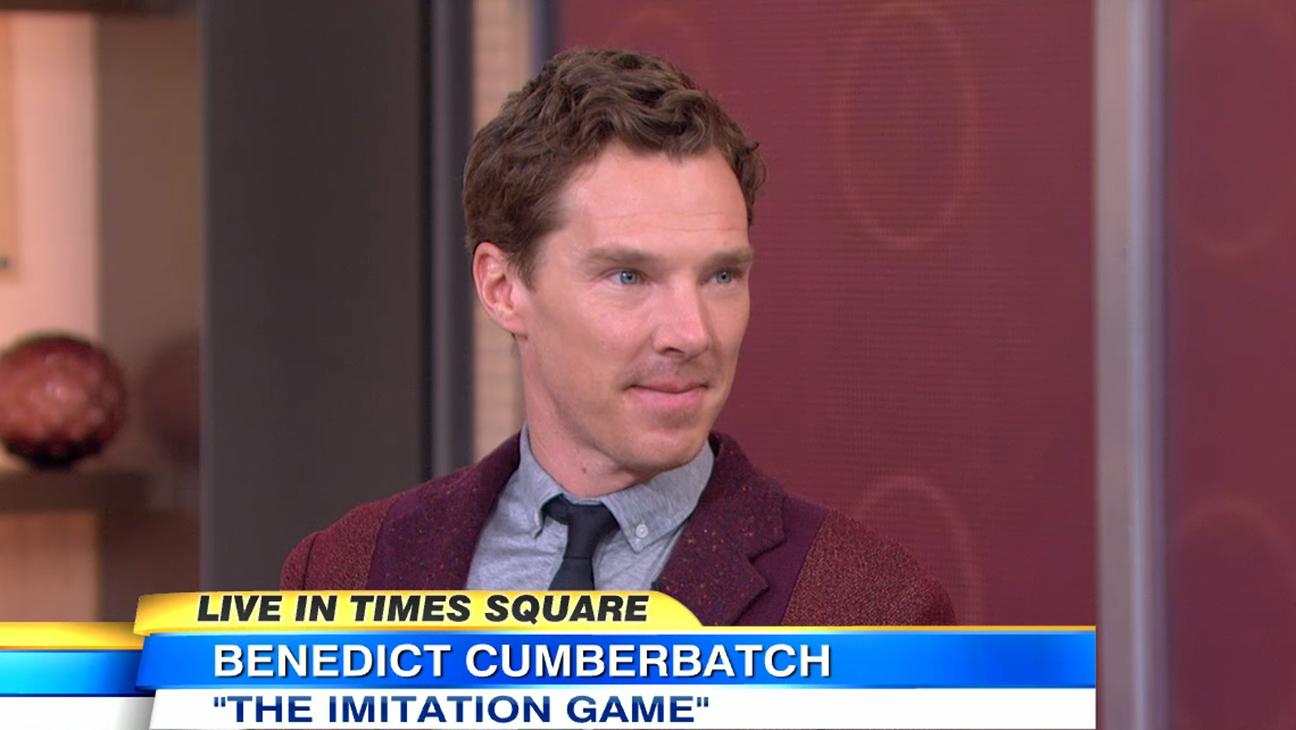 Benedict Cumberbatch GMA H 2014