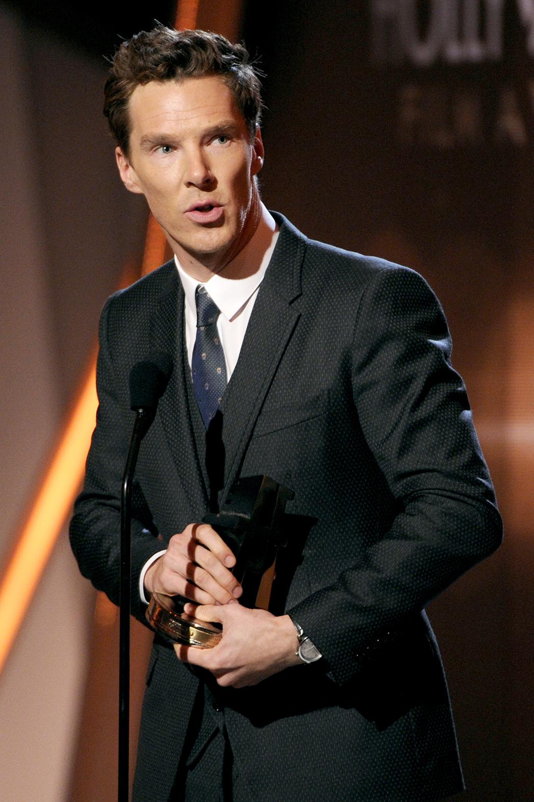 Benedict Cumberbatch Hollywood Film Awards P 2014