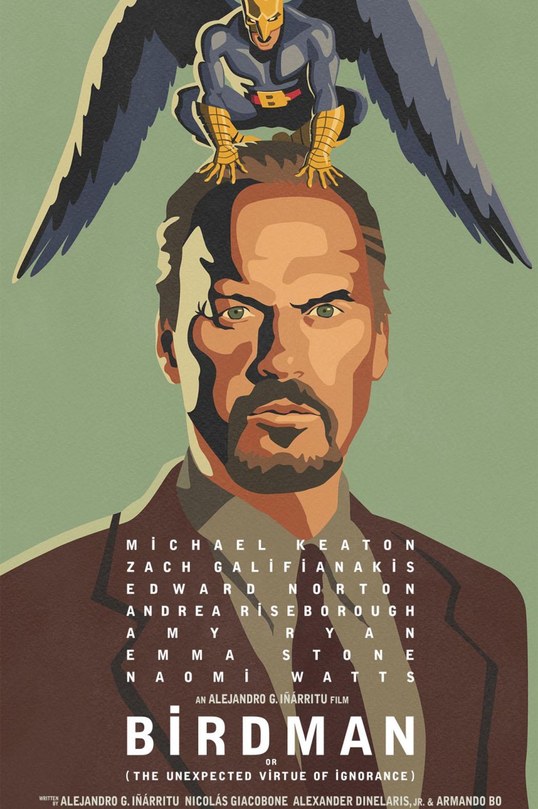 Birdman Poster - P 2014