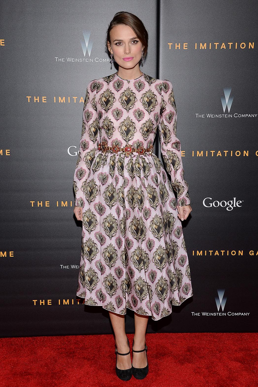 Dress du Jour Keira Knightley - P 2014