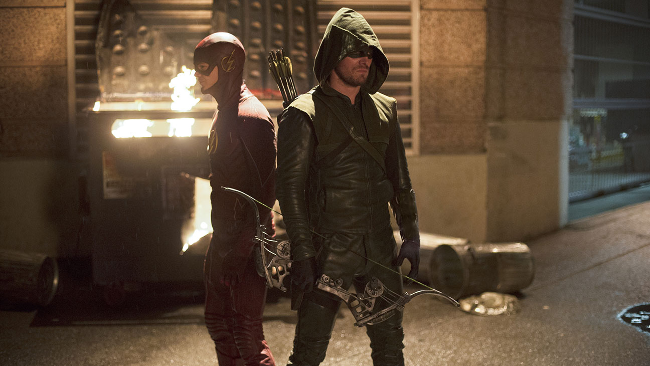 Flash Arrow Crossover - H 2014